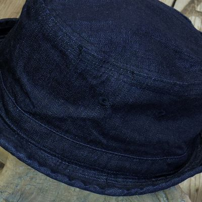 画像4: Sugar Cane -10oz. INDIGO DENIM PORKPIE HAT-