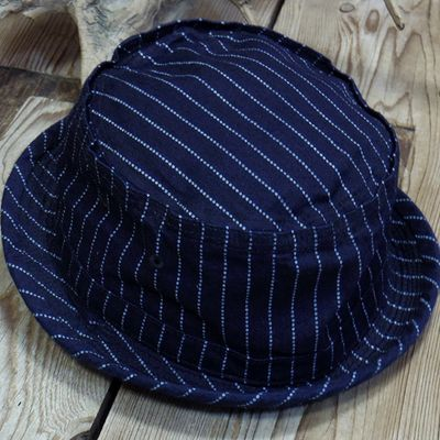画像3: Sugar Cane -9oz. WABASH STRIPE PORKPIE HAT-