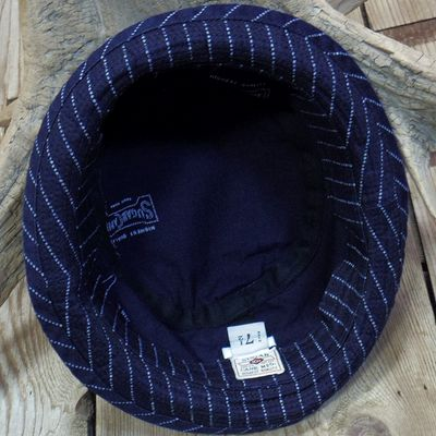 画像5: Sugar Cane -9oz. WABASH STRIPE PORKPIE HAT-