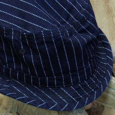 画像2: Sugar Cane -9oz. WABASH STRIPE PORKPIE HAT-