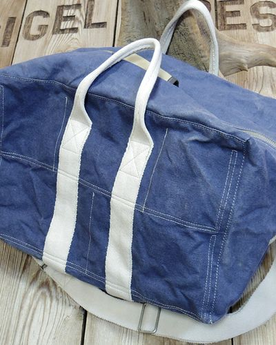 "画像5: TOYS McCOY -AVIATOR'S KIT BAG BLUE ""U.S.A.A.F.""-"