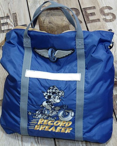 "画像1: TOYS McCOY -HELMET BAG MICKEY MOUSE ""RECORD BREAKER""-"