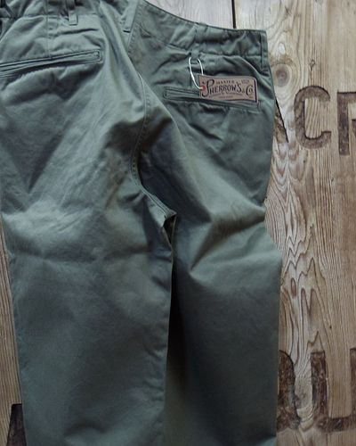 "画像5: Pherrow's -""P41M"" MILITARY TROUSERS-"