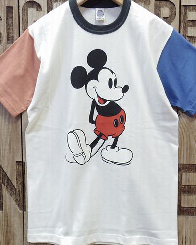 "画像2: TOYS McCOY -McHILL SPORTS WEAR TEE ""MICKEY MOUSE""-"