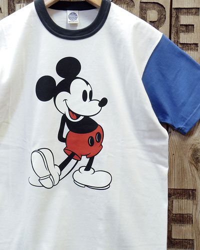 "画像1: TOYS McCOY -McHILL SPORTS WEAR TEE ""MICKEY MOUSE""-"