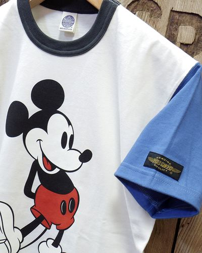 "画像3: TOYS McCOY -McHILL SPORTS WEAR TEE ""MICKEY MOUSE""-"