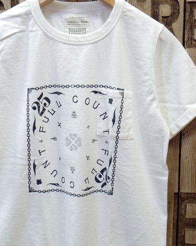 "画像2: FULLCOUNT -PRINT POCKET TEE ""THE PROBLEM WITH FULLCOUNT""-"