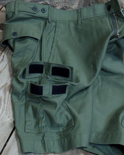 画像3: CAT'S PAW -BACK SATEEN CARGO SHORT PANTS-