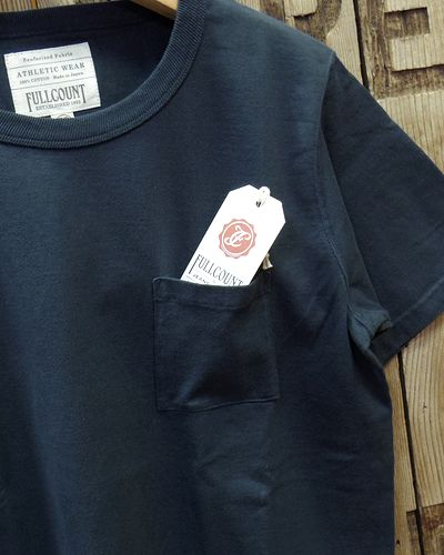 画像3: FULLCOUNT -BASIC POCKET TEE-
