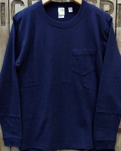 "画像2: BARNS ""Tsuri Ami"" LONG SLEEVE POCKET TEE"