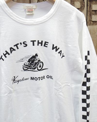 """画像5: BARNS """"Keystone MOTOR OIL"""" LONG SLEEVE TEE"""