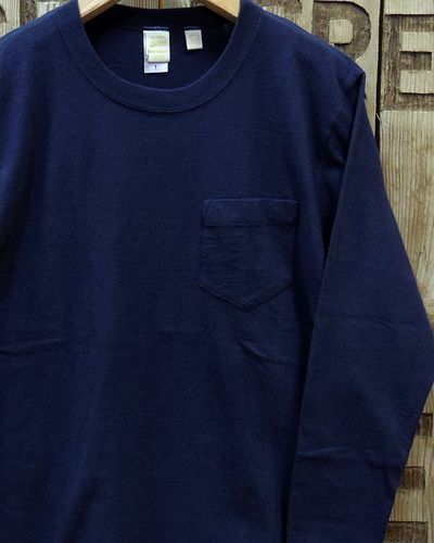 "画像1: BARNS ""Tsuri Ami"" LONG SLEEVE POCKET TEE"