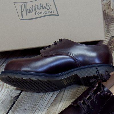 """画像2: Pherrow's """"CAPPED-DERBY"""" Work Shoes"""