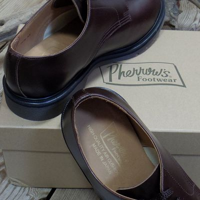 """画像3: Pherrow's """"CAPPED-DERBY"""" Work Shoes"""