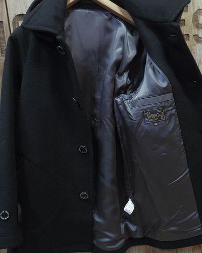 """画像4: Pherrow's """"17W-POJ2"""" Detachable Hood Melton Coat"""