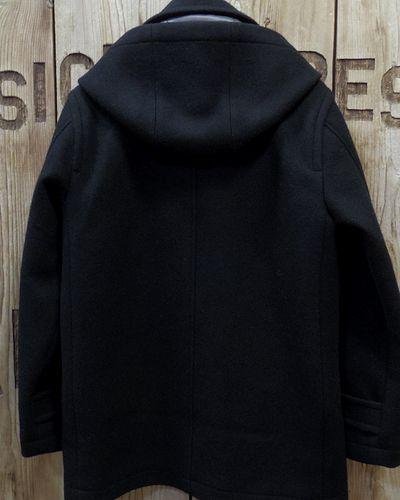 """画像5: Pherrow's """"17W-POJ2"""" Detachable Hood Melton Coat"""