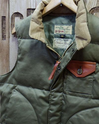 "画像3: William Gibson ""WG-1"" DOWN VEST"