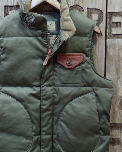 "画像1: William Gibson ""WG-1"" DOWN VEST"