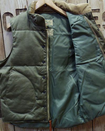 "画像4: William Gibson ""WG-1"" DOWN VEST"