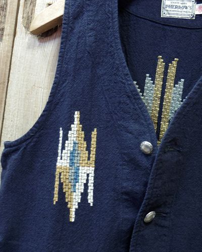 "画像3: Pherrow's ""18S-PCV1"" Native Emb. Vest"