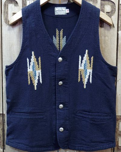 "画像2: Pherrow's ""18S-PCV1"" Native Emb. Vest"