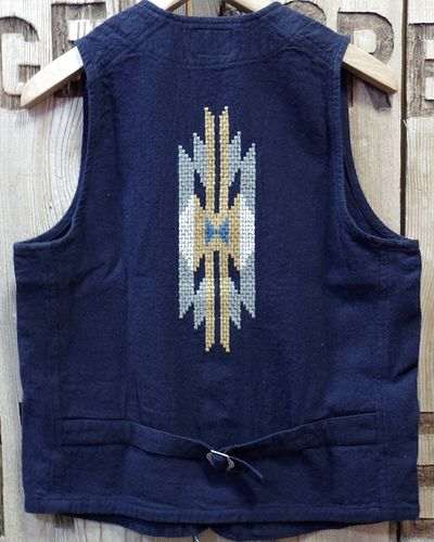 "画像4: Pherrow's ""18S-PCV1"" Native Emb. Vest"