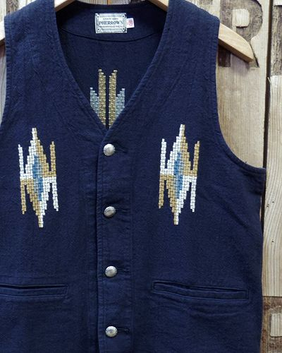 "画像1: Pherrow's ""18S-PCV1"" Native Emb. Vest"