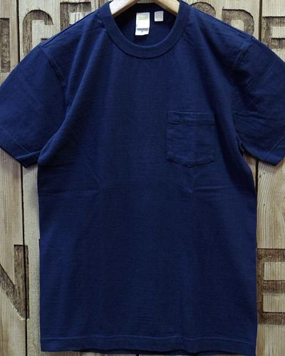 "画像5: BARNS -""Tsuri-Ami"" CREW NECK POCKET T-SHIRT-"