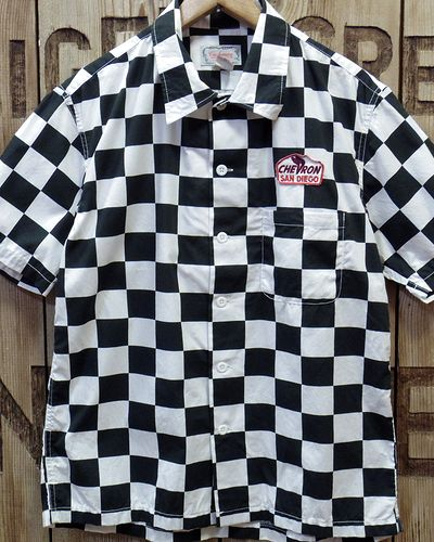 画像2: CUSHMAN -CHECKER FLAG SHIRTS-