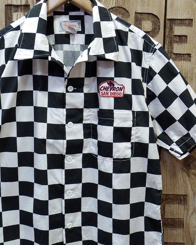 画像1: CUSHMAN -CHECKER FLAG SHIRTS-