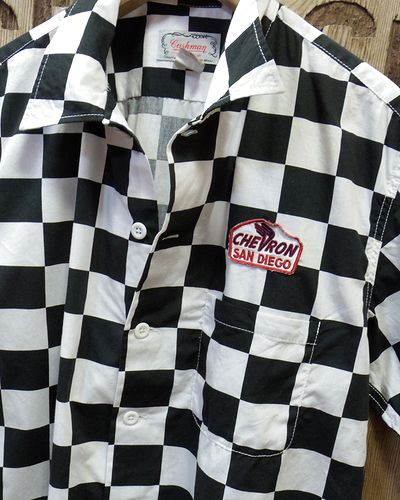 画像3: CUSHMAN -CHECKER FLAG SHIRTS-