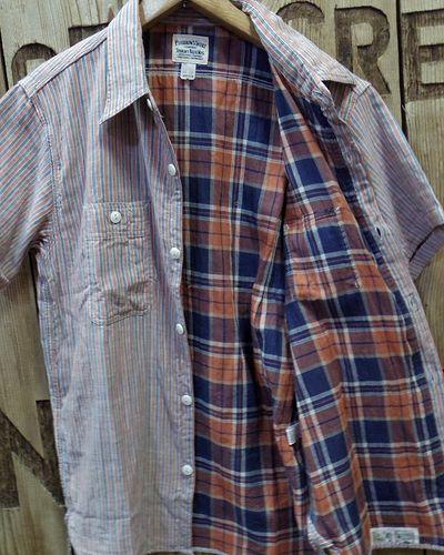 """画像4: Pherrow's """"18S-750WSS-MS"""" W Gaze S/S Work Shirts"""