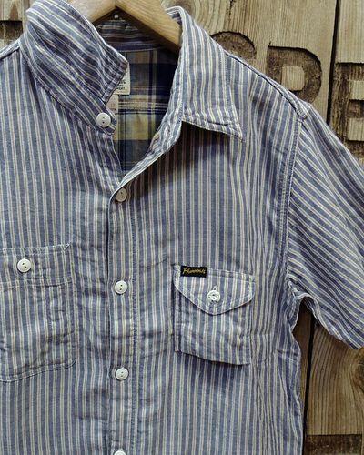 """画像3: Pherrow's """"18S-750WSS-MS"""" W Gaze S/S Work Shirts"""