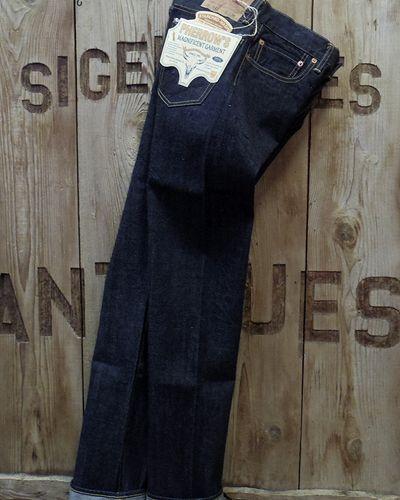 """画像1: Pherrow's """"441S.W."""" Tapered Jeans"""