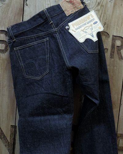 """画像2: Pherrow's """"441S.W."""" Tapered Jeans"""