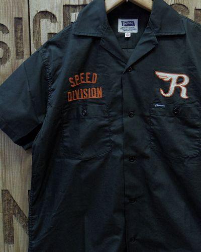 """画像1: Pherrow's """"18S-POES1"""" S/S Work Shirt"""