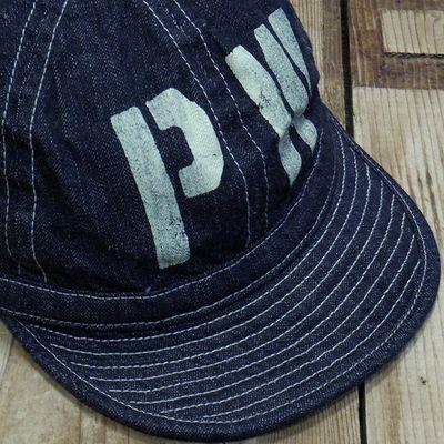 """画像3: BUZZ RICKSON'S -""""PW"""" ARMY DENIM CAP-"""