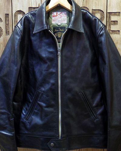 画像2: FULLCOUNT -Horse-Hide British Single Riders Jacket by ADDICT CLOTHES-