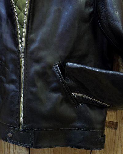 画像3: FULLCOUNT -Horse-Hide British Single Riders Jacket by ADDICT CLOTHES-