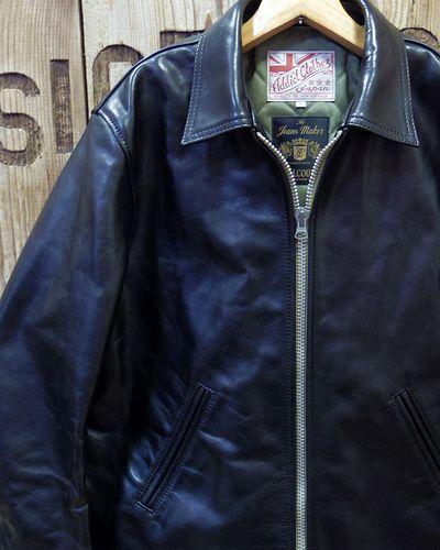 画像1: FULLCOUNT -Horse-Hide British Single Riders Jacket by ADDICT CLOTHES-