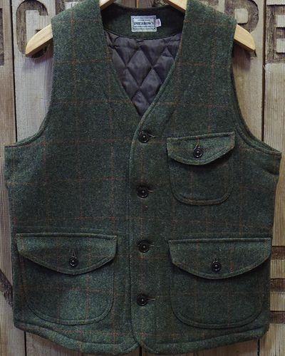 "画像2: Pherrow's ""18W-PWQV1"" Wool Work Vest"