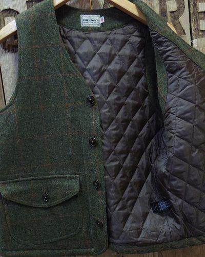"画像4: Pherrow's ""18W-PWQV1"" Wool Work Vest"