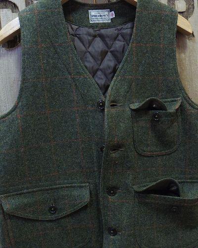 "画像3: Pherrow's ""18W-PWQV1"" Wool Work Vest"