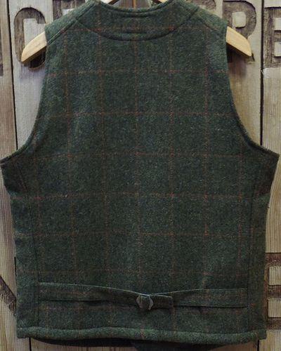 "画像5: Pherrow's ""18W-PWQV1"" Wool Work Vest"