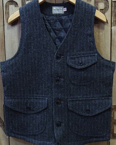 "画像2: Pherrow's ""18W-PWQV1"" Wool Work Vest"