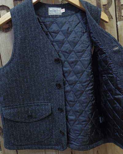 "画像4: Pherrow's ""18W-PWQV1"" Wool Work Vest"