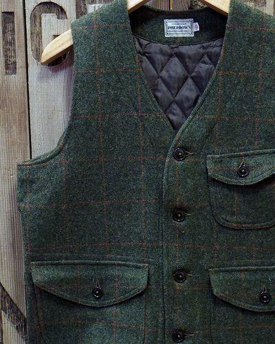 "画像1: Pherrow's ""18W-PWQV1"" Wool Work Vest"
