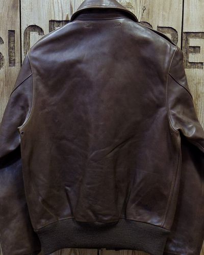 "画像5: Pherrow's ""18W-A-2-P"" Horse Hide Flight Jacket"