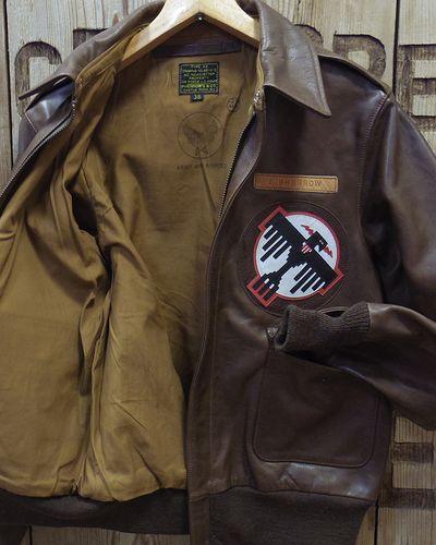 "画像4: Pherrow's ""18W-A-2-P"" Horse Hide Flight Jacket"