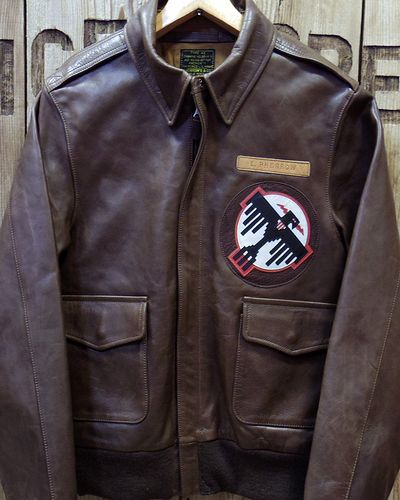 "画像2: Pherrow's ""18W-A-2-P"" Horse Hide Flight Jacket"